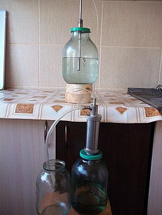 Фильтр для очистки самогона в домашних условиях